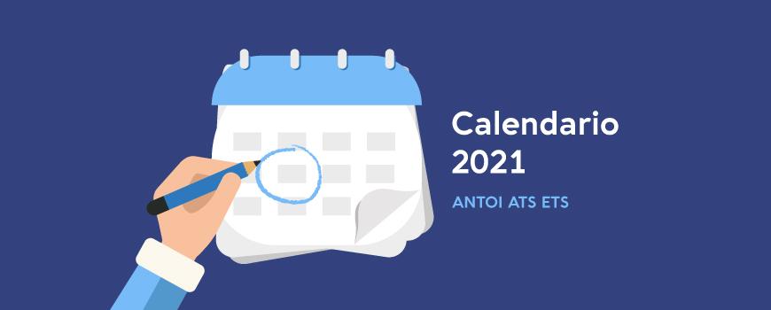 Calendario 2021 antoi